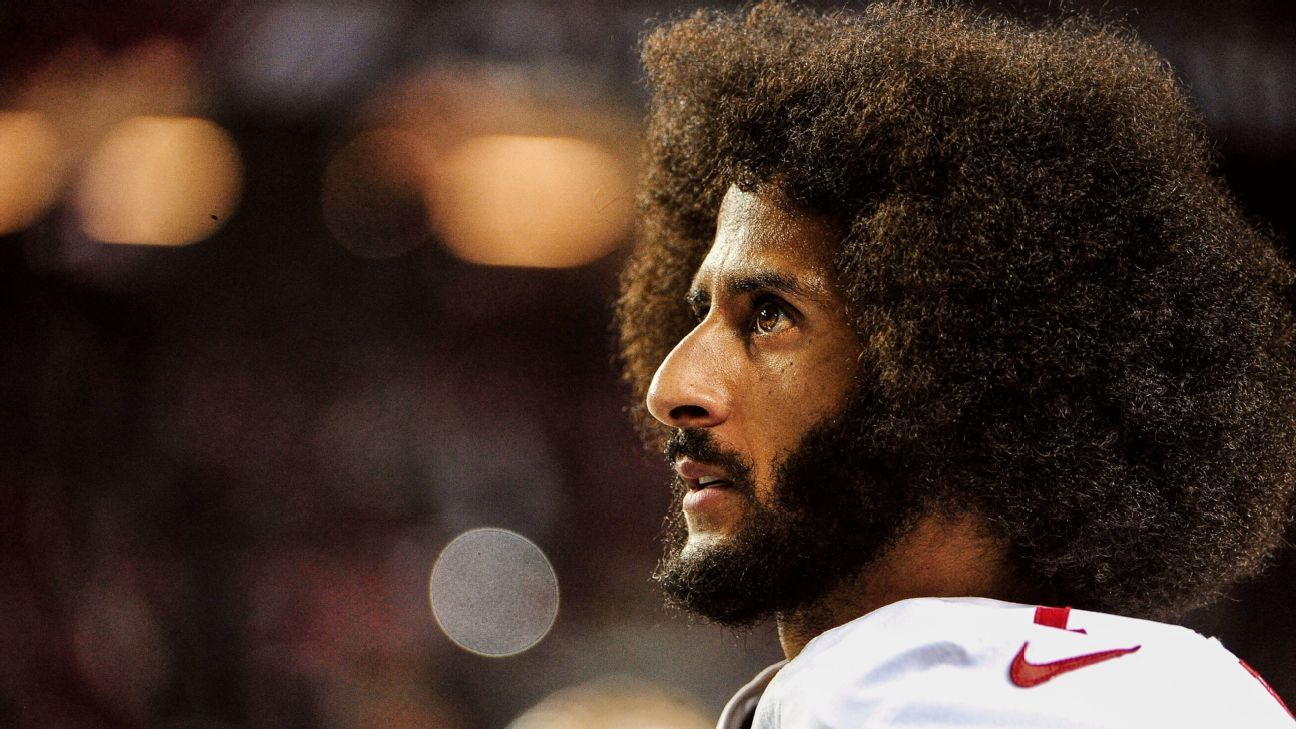 In a tweet, Colin Kaepernick gave a shoutout to