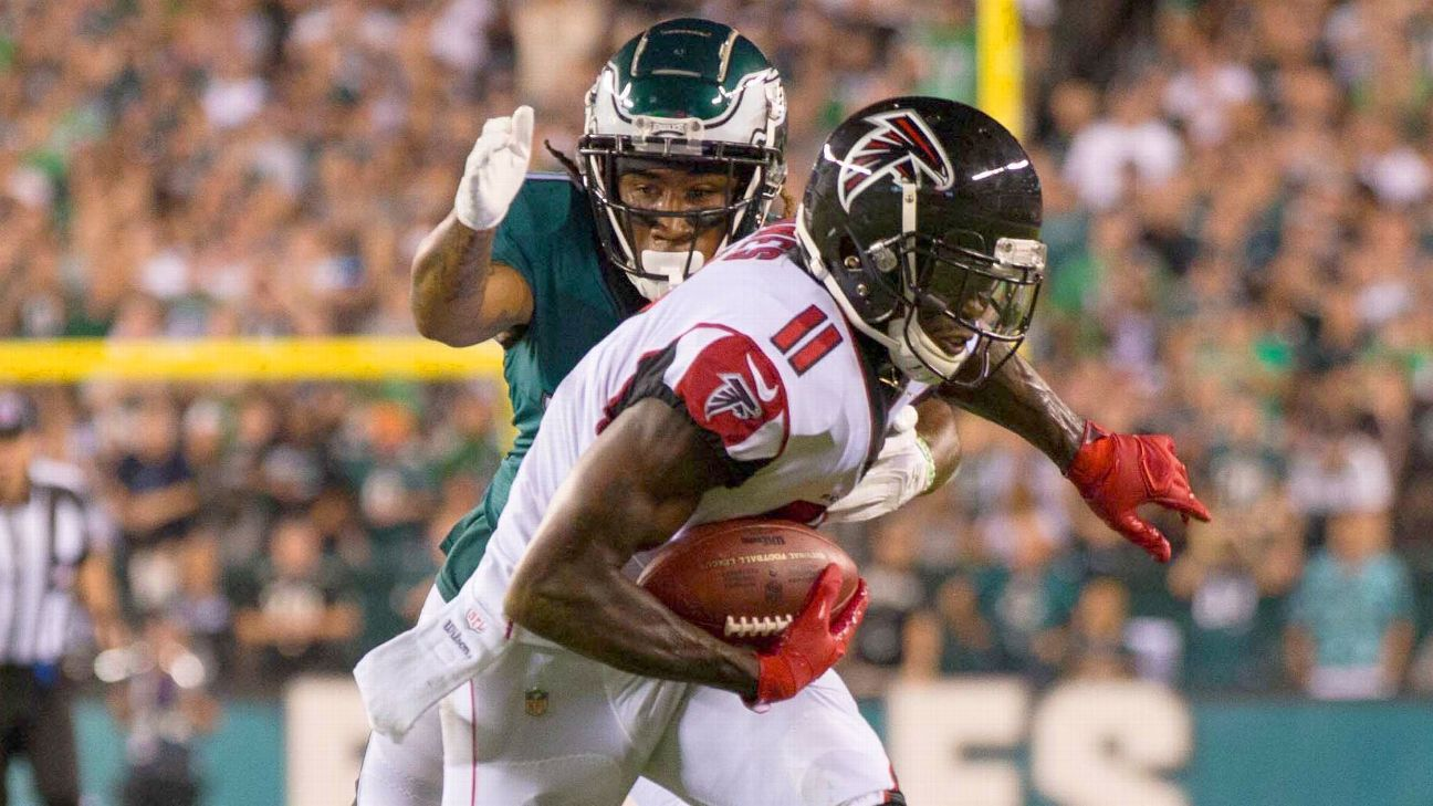 The Falcons All-Pro wide receiver is unconcerned about his lack of end zone production. Plus, as Jones reminds: