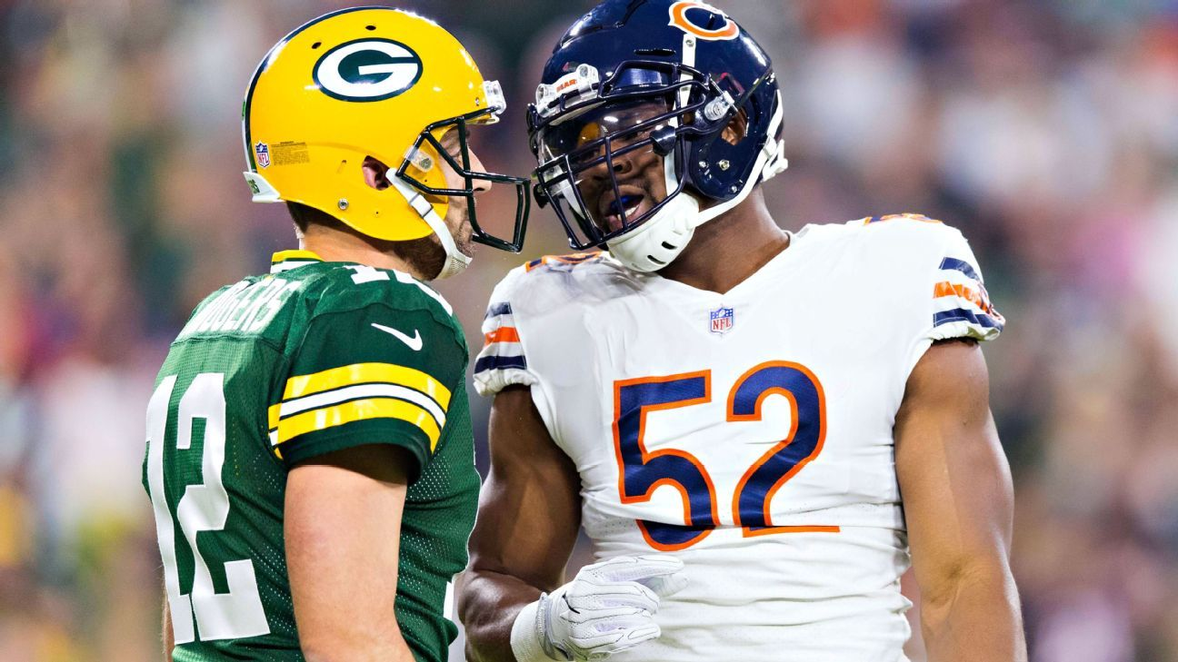Khalil Mack was a monster in his first game after being traded. Randy Moss had two huge debuts after being dealt, while Jay Cutler did ... the opposite.