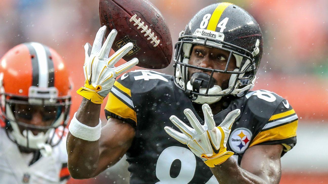 Losing has Steelers' Brown fired up: 'We suck'