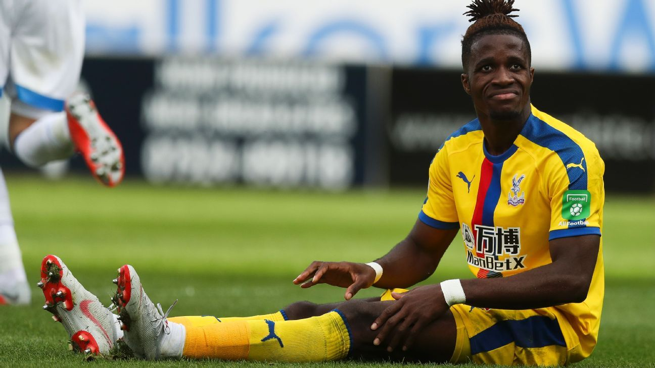 Zaha blasts 'different' treatment by referees