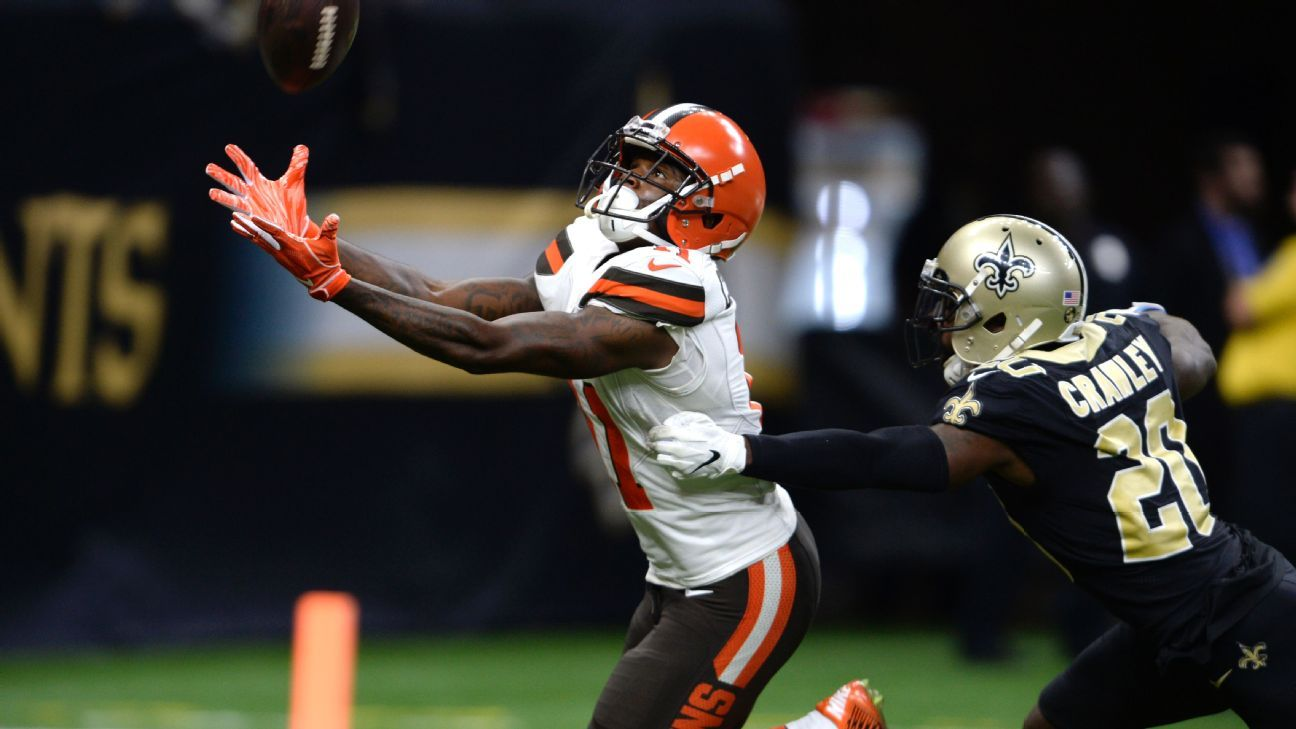 With Josh Gordon on his way out, there is opportunity for the Browns' young receivers, including Antonio Callaway, who made a strong case in Week 2.