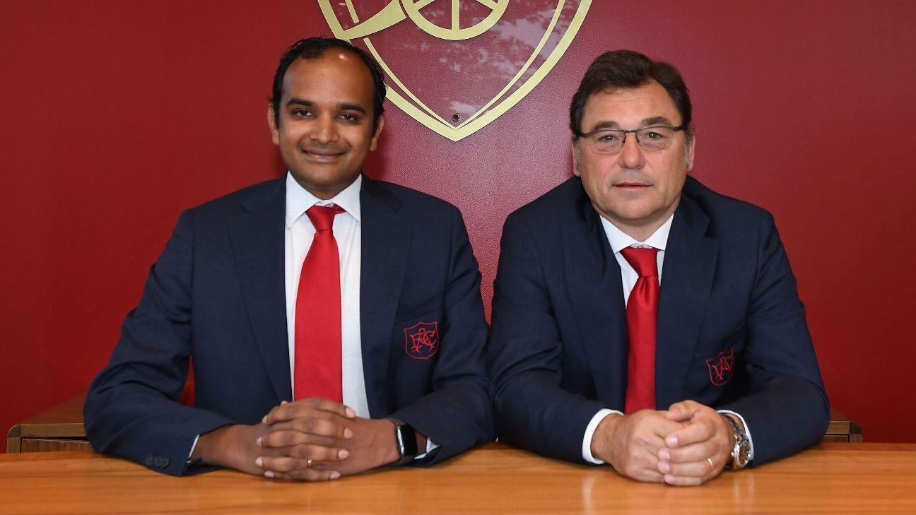 Meet Sanllehi, Venkatesham: Arsenal's new power-brokers