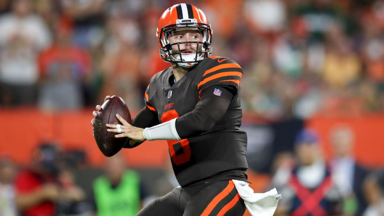 NFL - The Cleveland Browns and Hue Jackson need to be all-in on Baker Mayfield