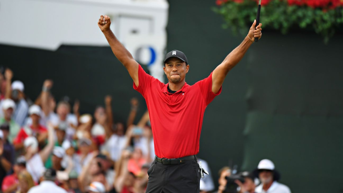 How Tiger Woods overcame pain and scandal to triumph again to win the Tour Championship for first victory in five years