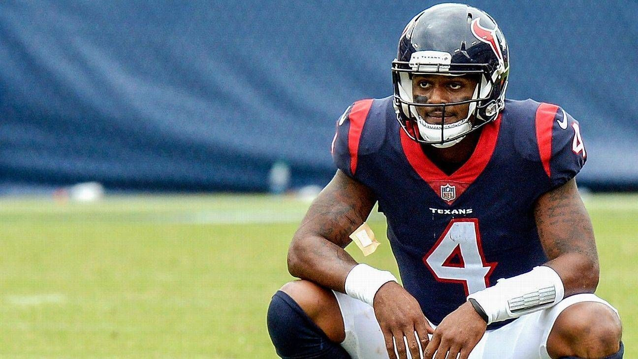 Texans QB Deshaun Watson reportedly took a bus to Jacksonville because the team thought flying would be bad for his bruised lung and injured ribs.