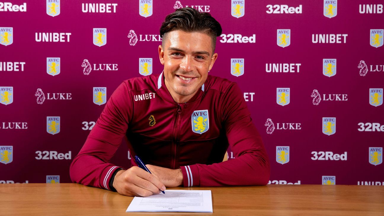 Grealish signs Villa deal after Spurs pursuit