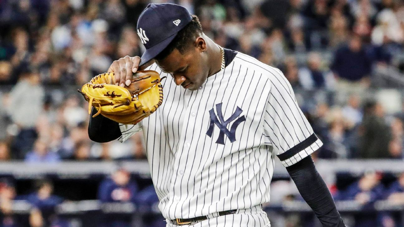 Aaron Boone Espn Stats >> What if Severino implodes again? Inside the Yankees wild-card strategy