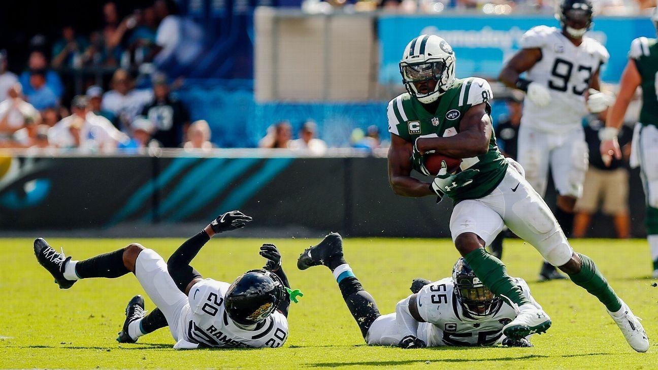 Source: Jets WR Enunwa, S Maye out 3 weeks