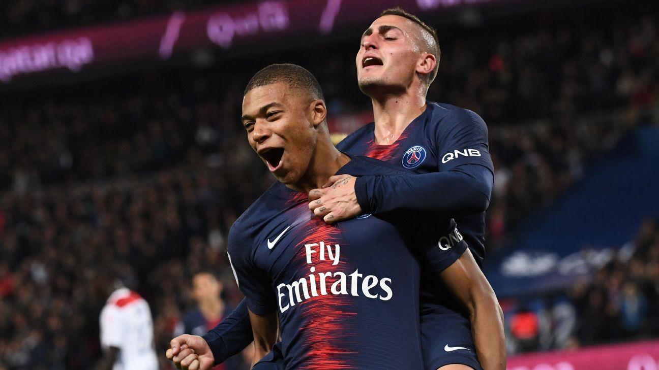 Paris Saint Germain Vs Lyon Football Match Report October   Espn