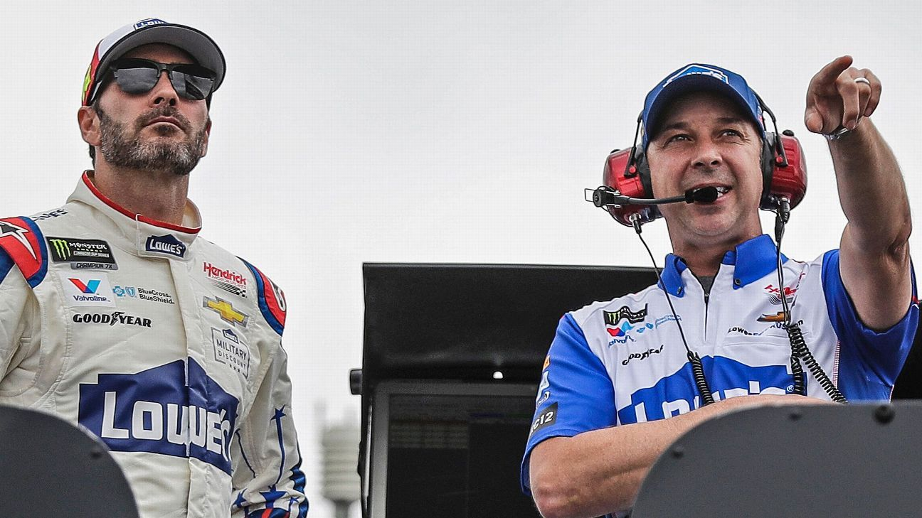 The top 10 NASCAR driver-crew chief combos in Cup history