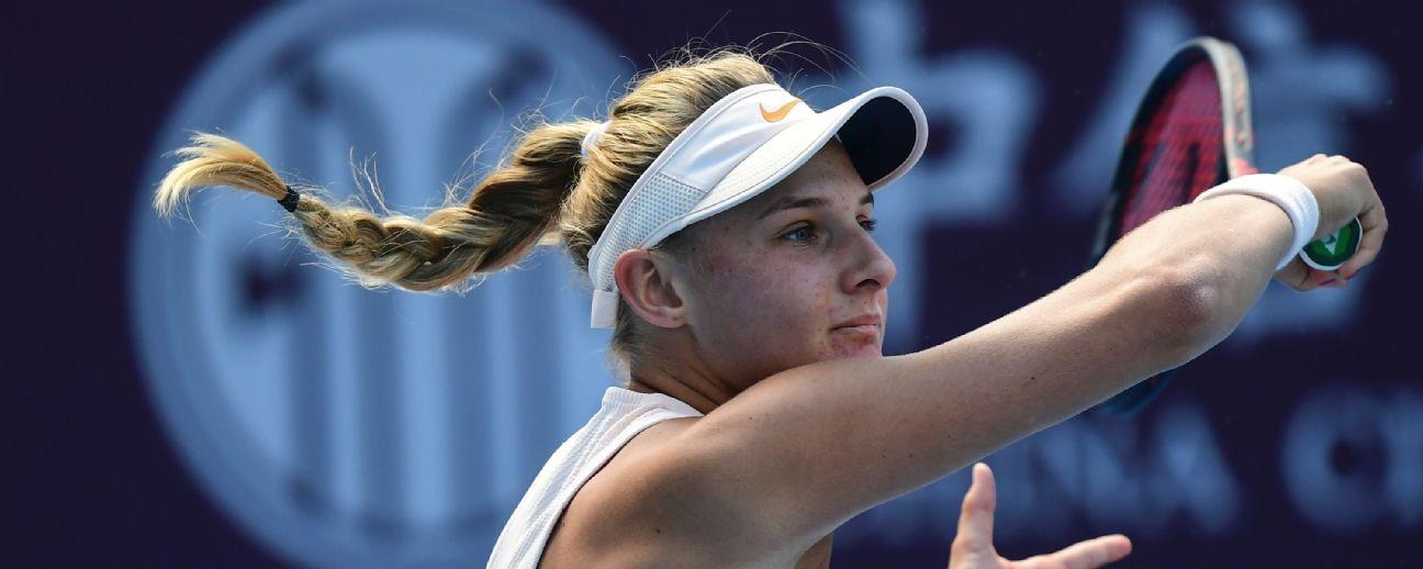 Hong Kong Open: Dayana Yastremska defeats Qiang Wang to win first career title