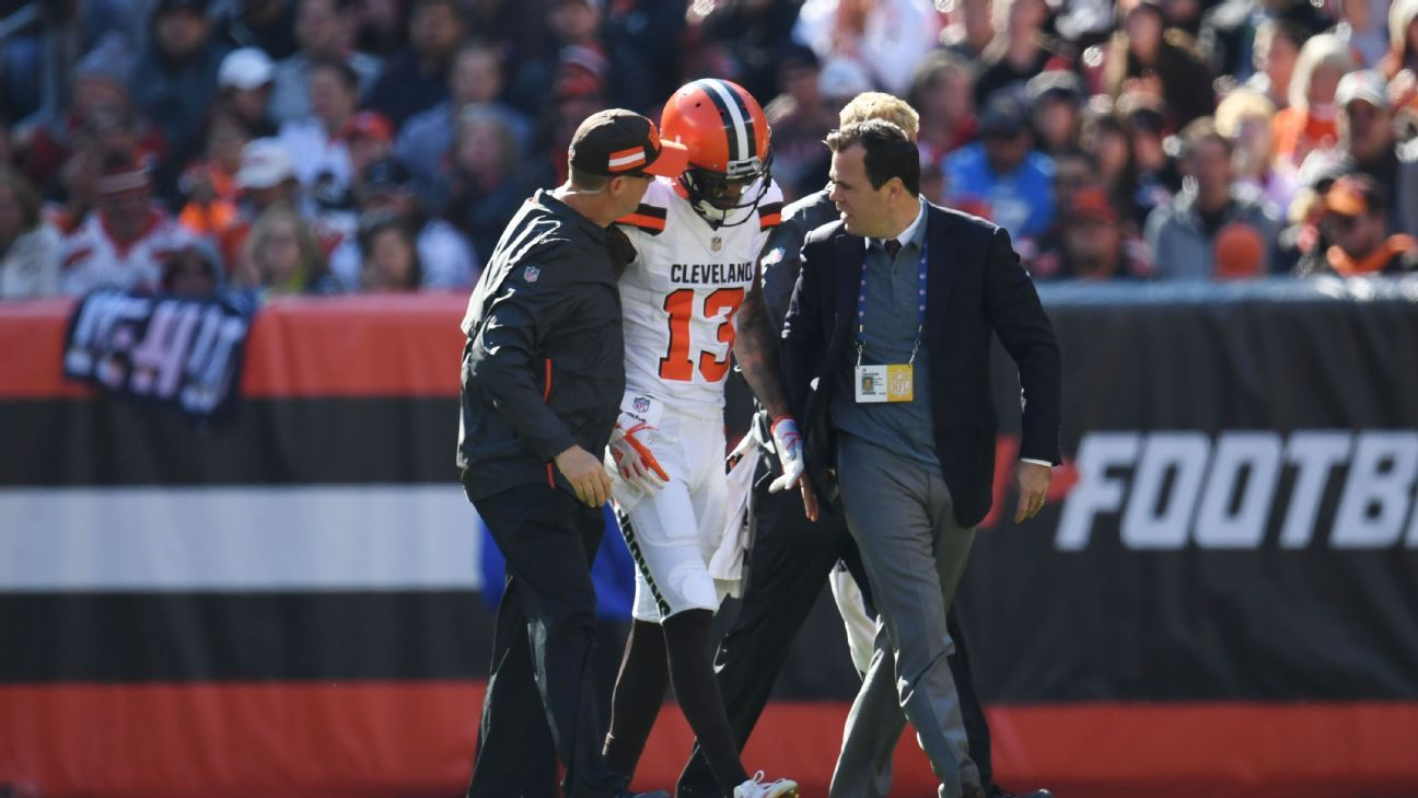 Browns hurting: LB Schobert, WR Streater out