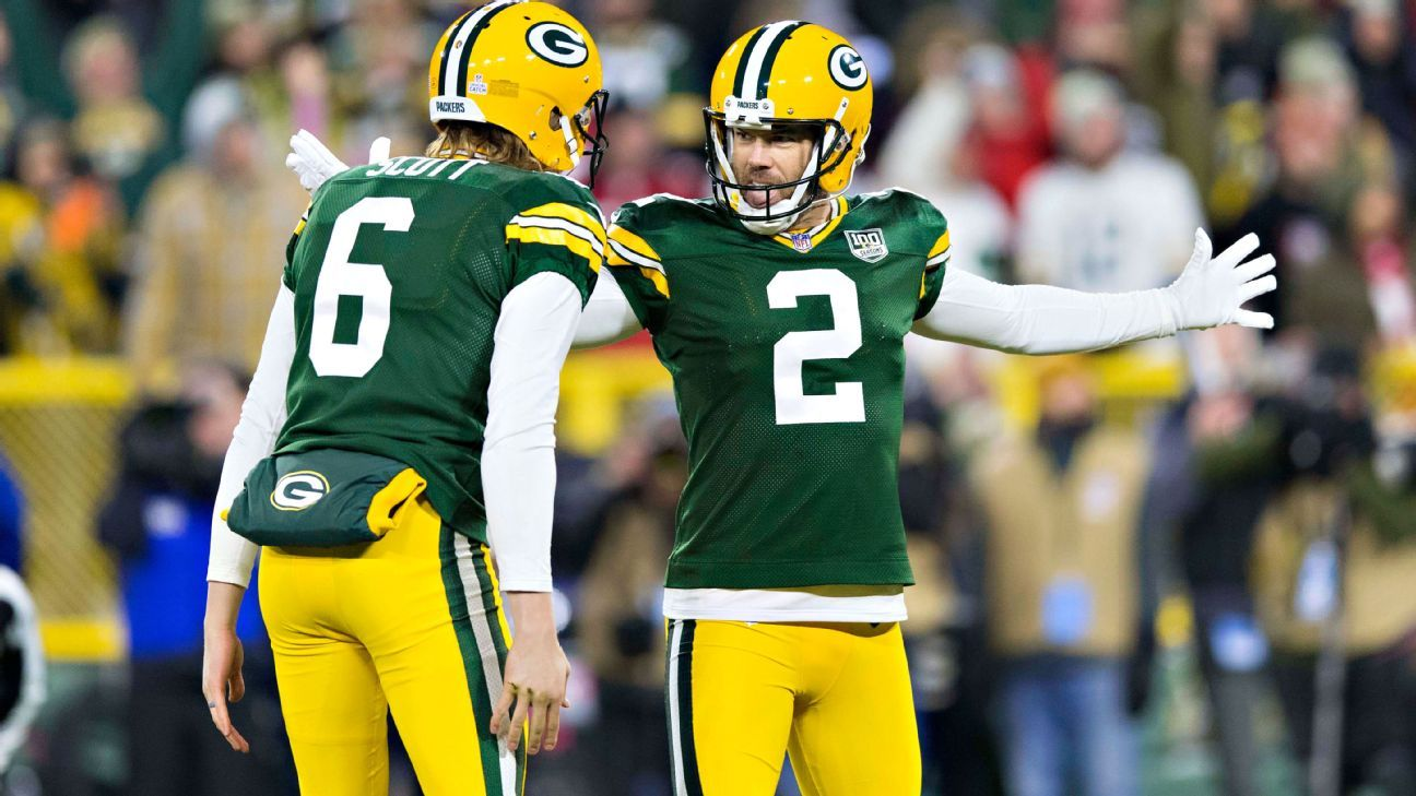 Packers kicker Mason Crosby bounced back from a poor performance last week in Detroit by lifting Green Bay to a comeback victory vs. the 49ers.