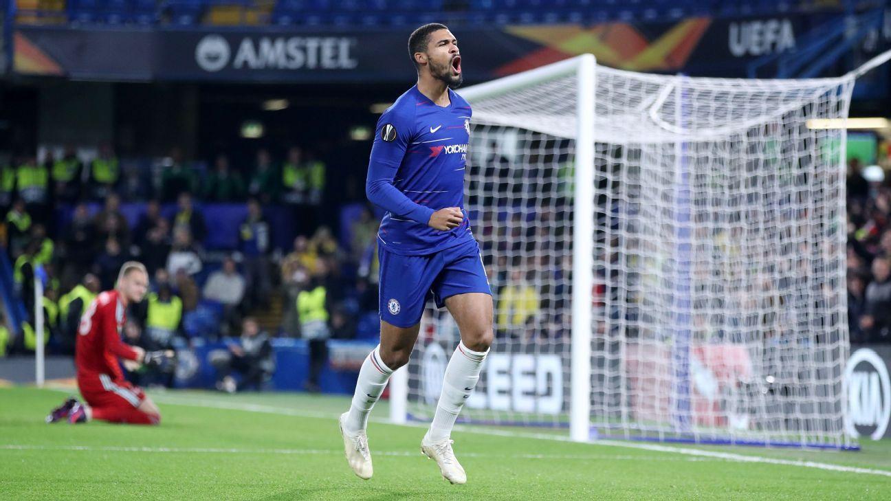 Ruben Loftus-Cheek nets three goals in Chelsea win over BATE Borisov