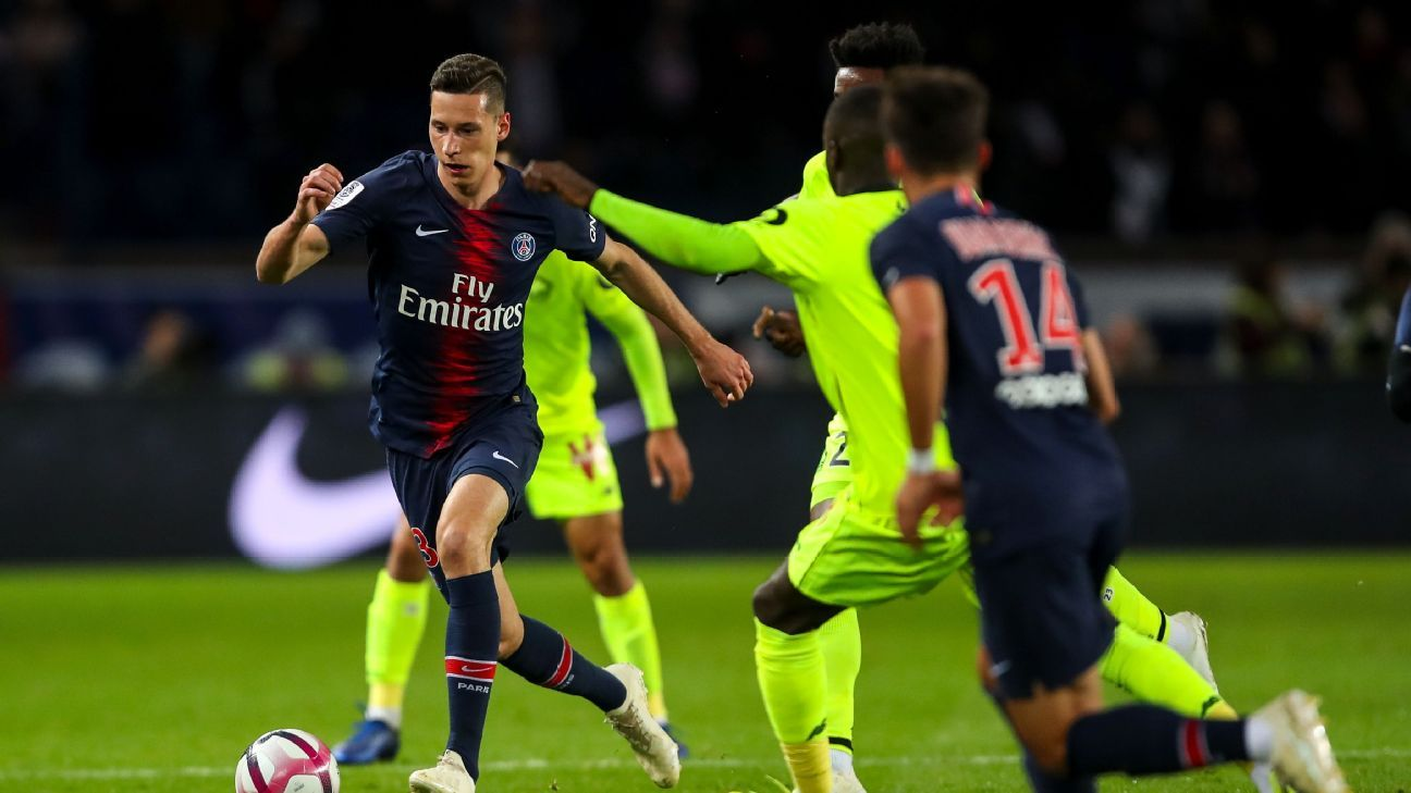 Kylian Mbappe and Neymar score, Julian Draxler impresses in tune-up win over Lille
