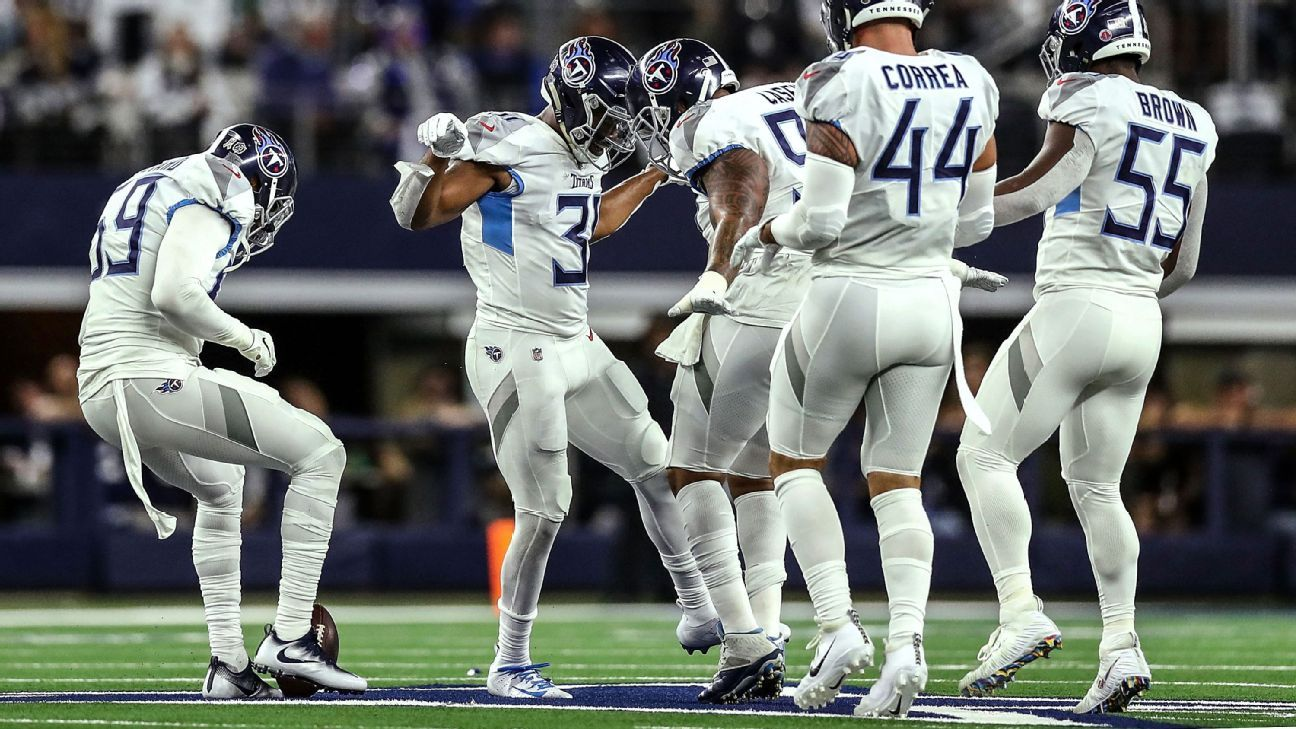 Kevin Byard channeled his inner Terrell Owens by running to the star at midfield of AT&T Stadium to celebrate an interception, even though he expected to get drilled like T.O. did in the 2000 season.