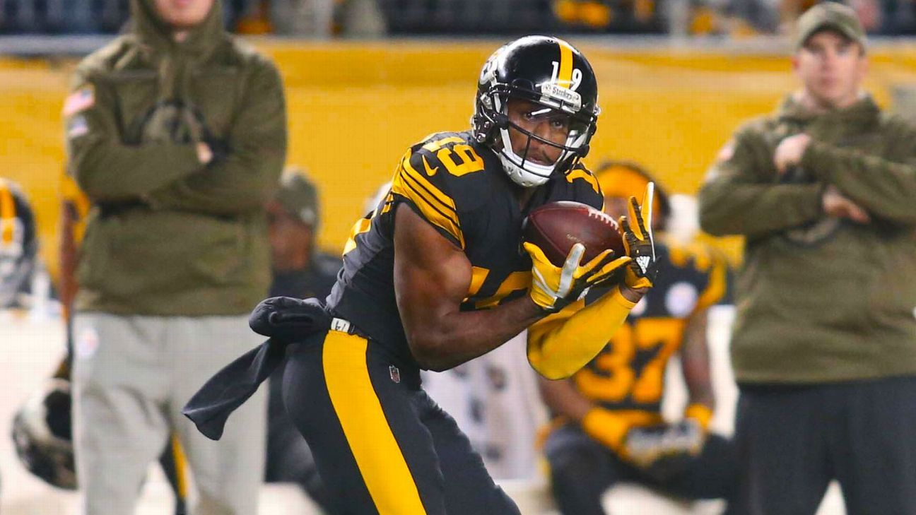 Steelers score two TDs in 13 seconds to open up lead
