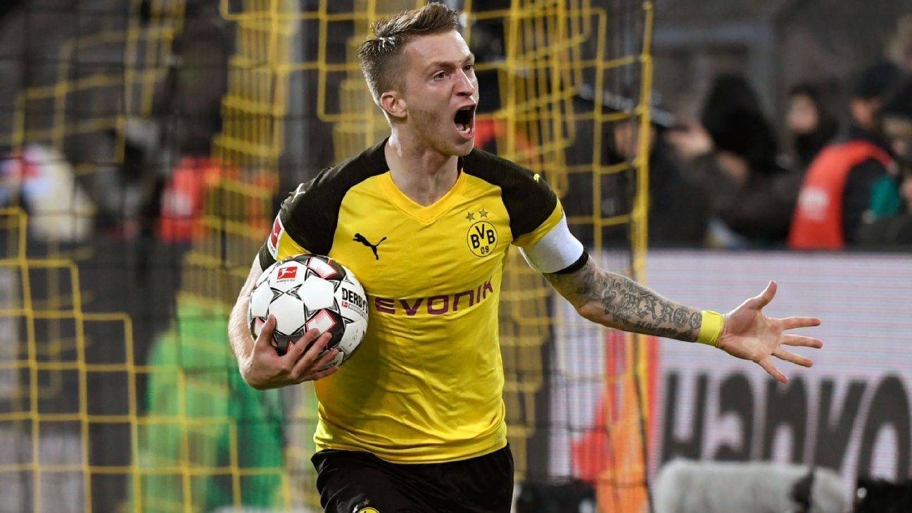 Germany's Marco Reus targets Mesut Ozil's No. 10 position after shining with Dortmund