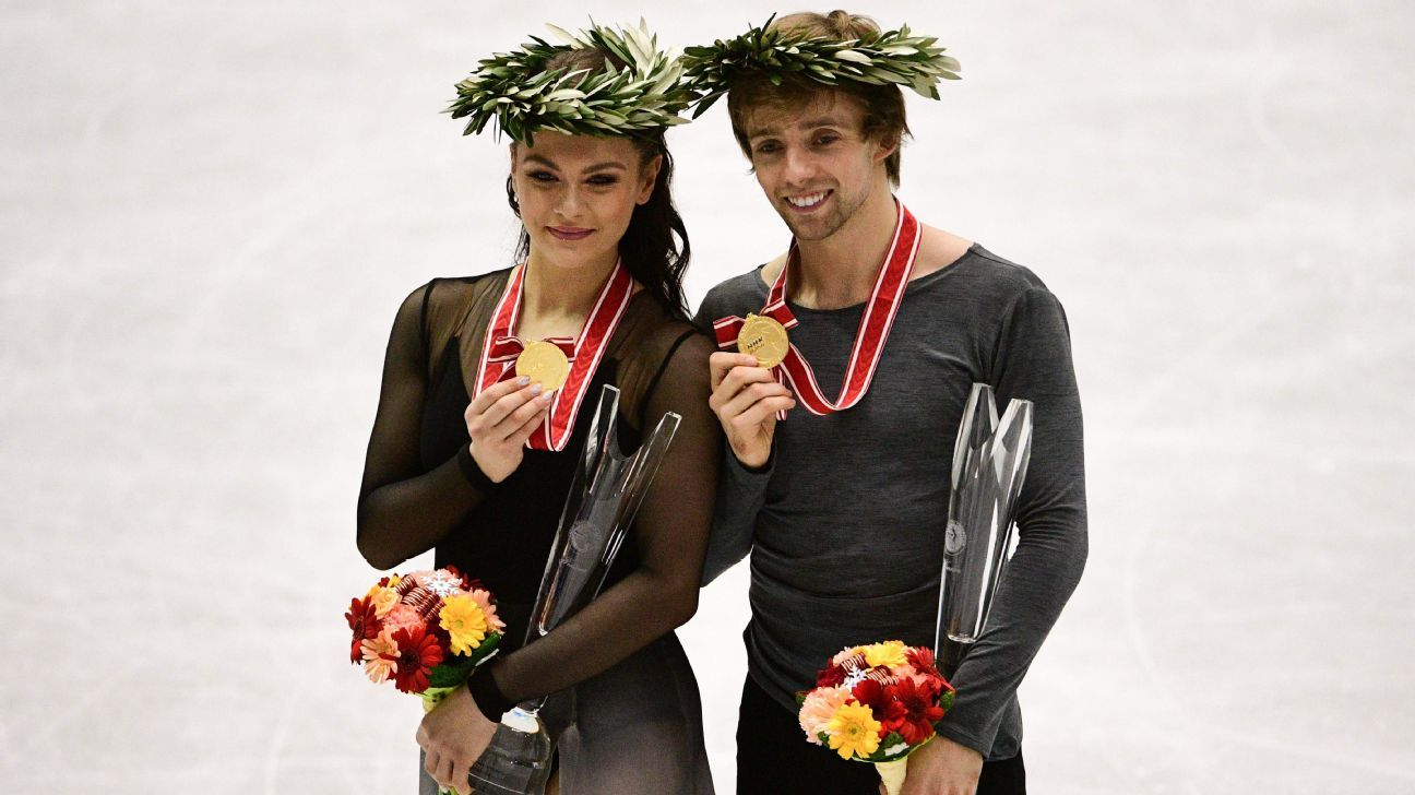 Americans win ice dance gold at NHK Trophy