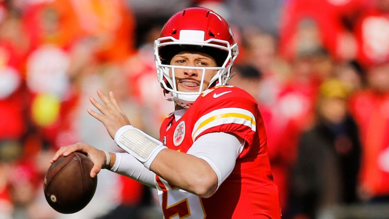 Mahomes has 31 touchdown passes this season, breaking the single-season record of 30 set by Len Dawson in 1964.