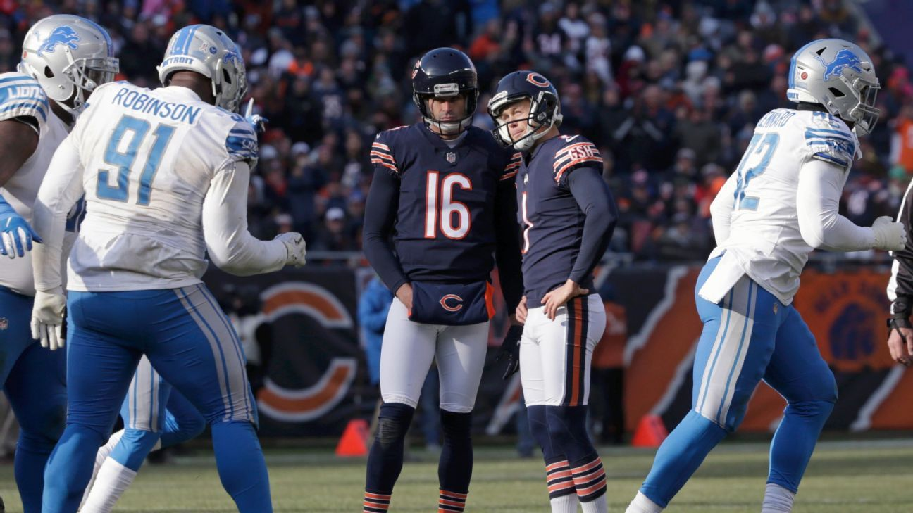 Bears kicker Cody Parkey, after four misses Sunday, will make the 35-mile trek from the team's practice facility to Soldier Field to get some extra practice Wednesday night.