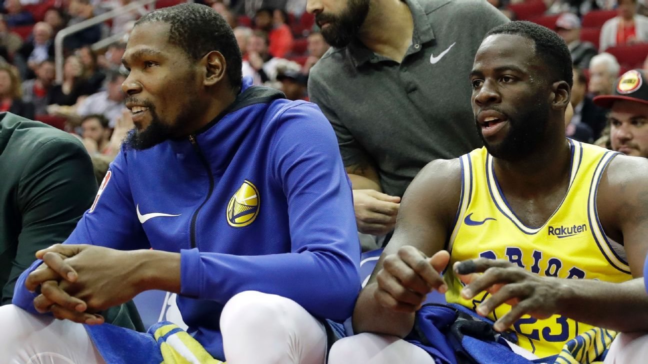 Steph Curry 'extremely proud' of how Warriors handled Draymond Green, Kevin Durant drama