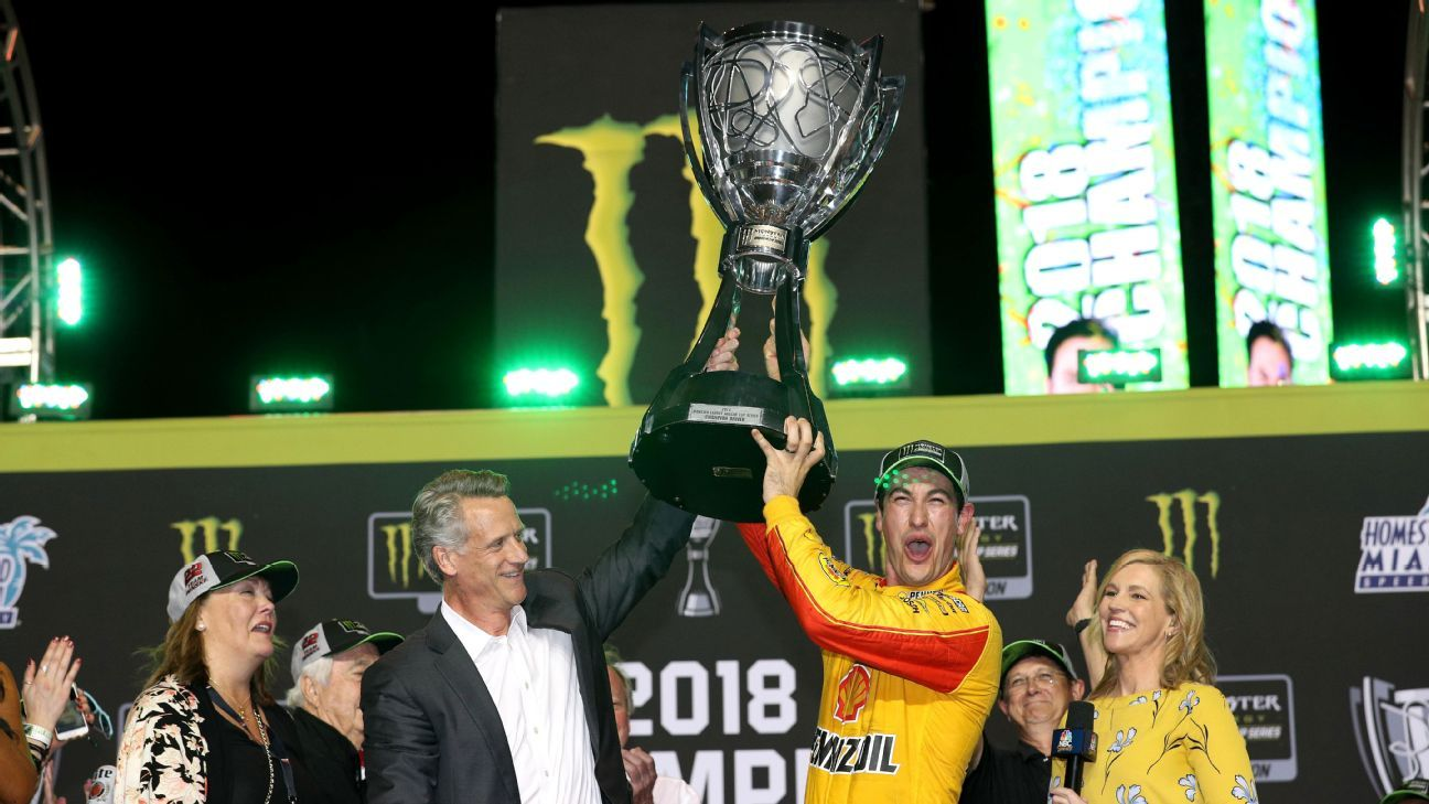 Joey Logano an underdog? Odds, title proved otherwise