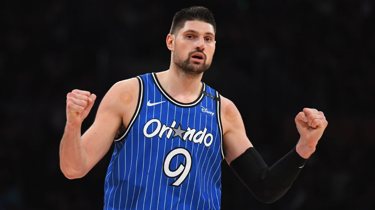 d3fed54e13c7 Fantasy NBA Daily Notes  Vucevic is an NBA and fantasy All-Star. James  Harden