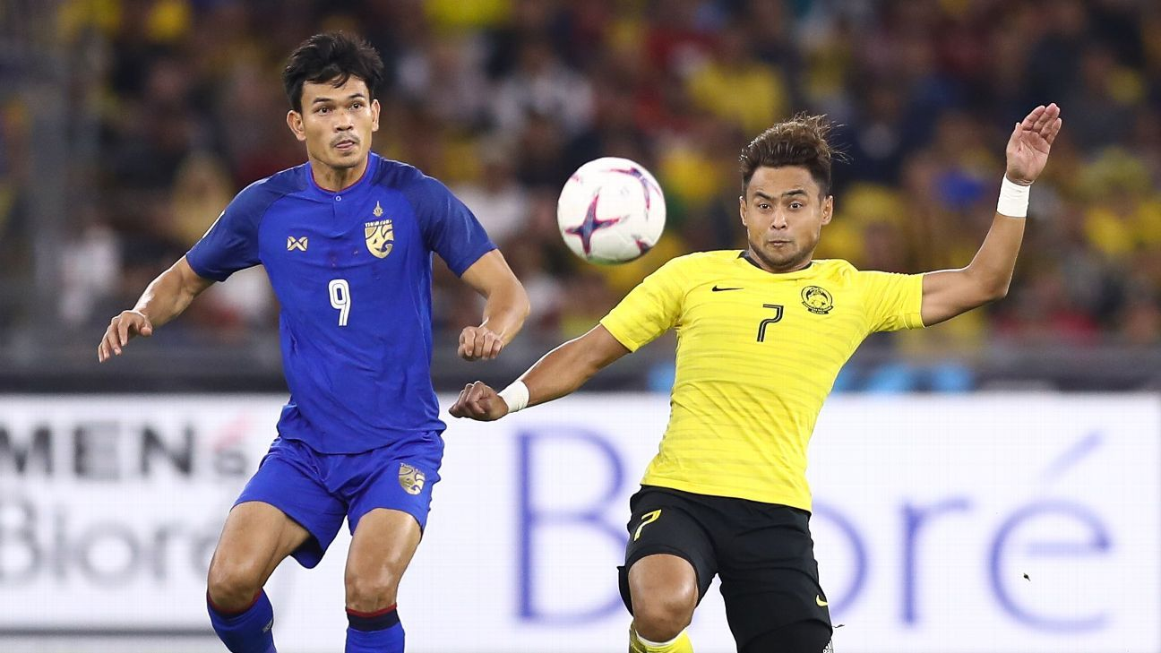 Image result for malaysia vs thailand football