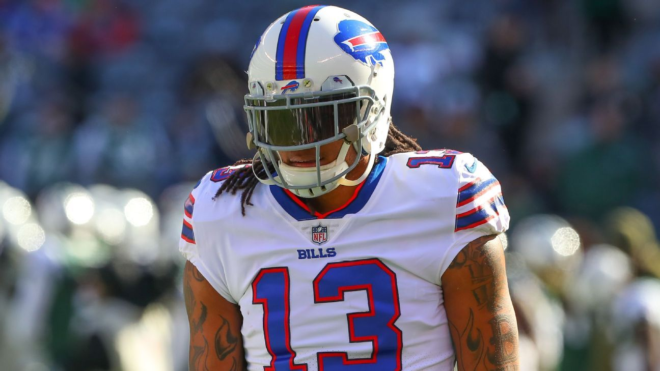 The Bills have waived WR Kelvin Benjamin, just over 13 months after trading for him from the Panthers.
