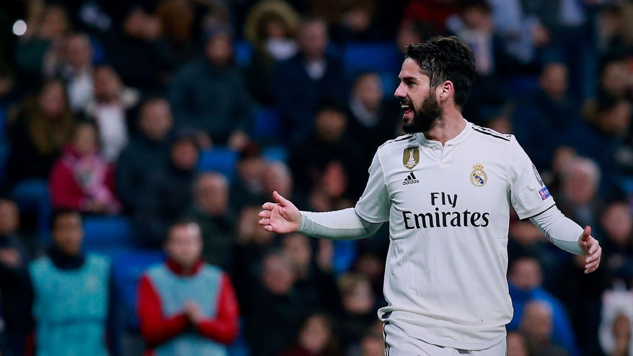 Transfer Talk: Manchester City could pay £630m for Real Madrid's out-of-favour Isco