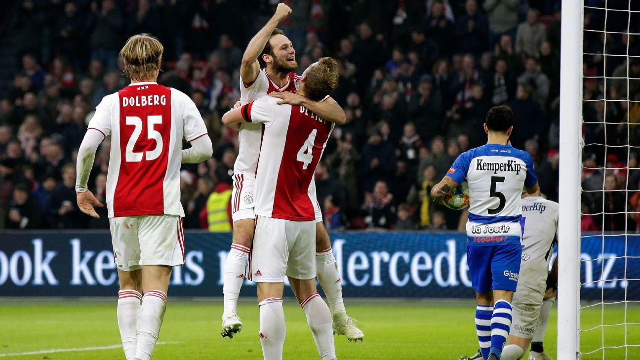 Ex-Manchester United star Daley Blind scores hat trick as ...