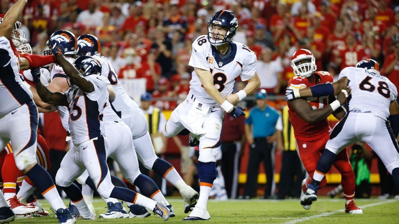 Denver Broncos QB Peyton Manning defies weakening body with best brain in NFL