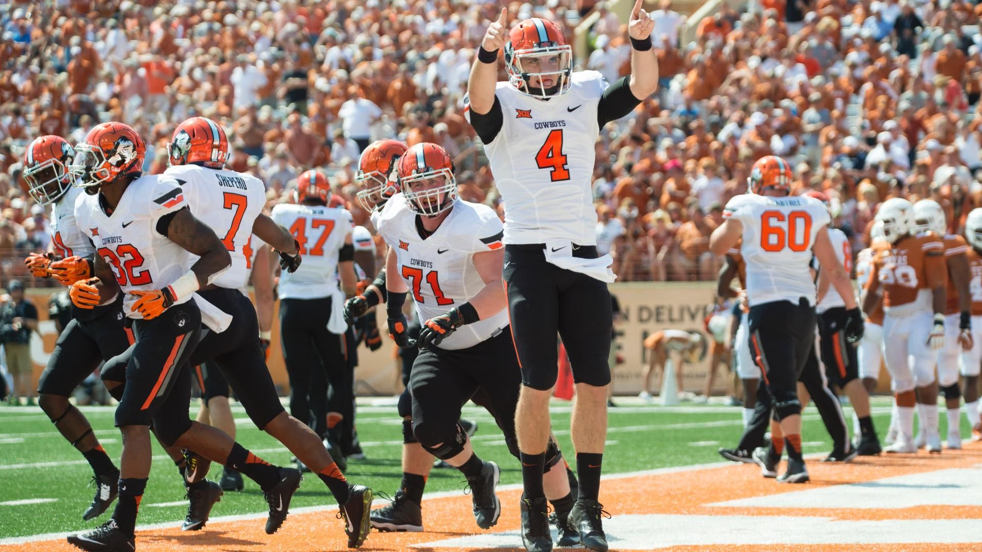 Oklahoma State at Texas: Prediction, pick, line, odds, TV, live stream, watch online