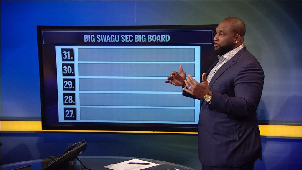 The Big Swagu's SEC Big Board