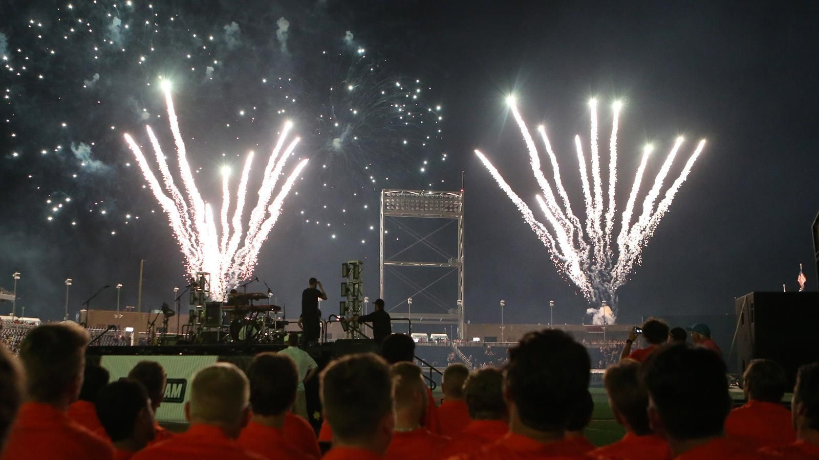 Behind the scenes at the CWS Opening Ceremonies