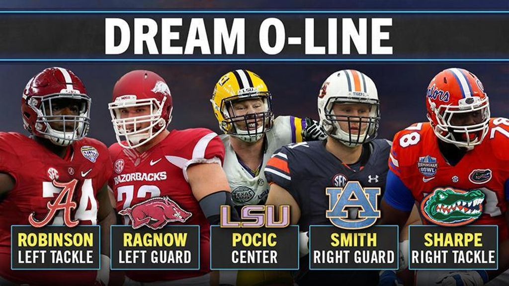 SEC O-line Dream Team