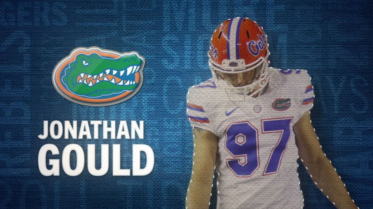 I am the SEC: Florida's Jonathan Gould