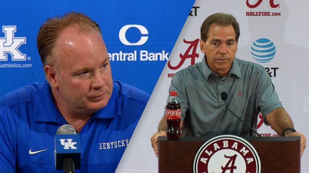 Stoops, Saban prepare for challenging Week 5 contest