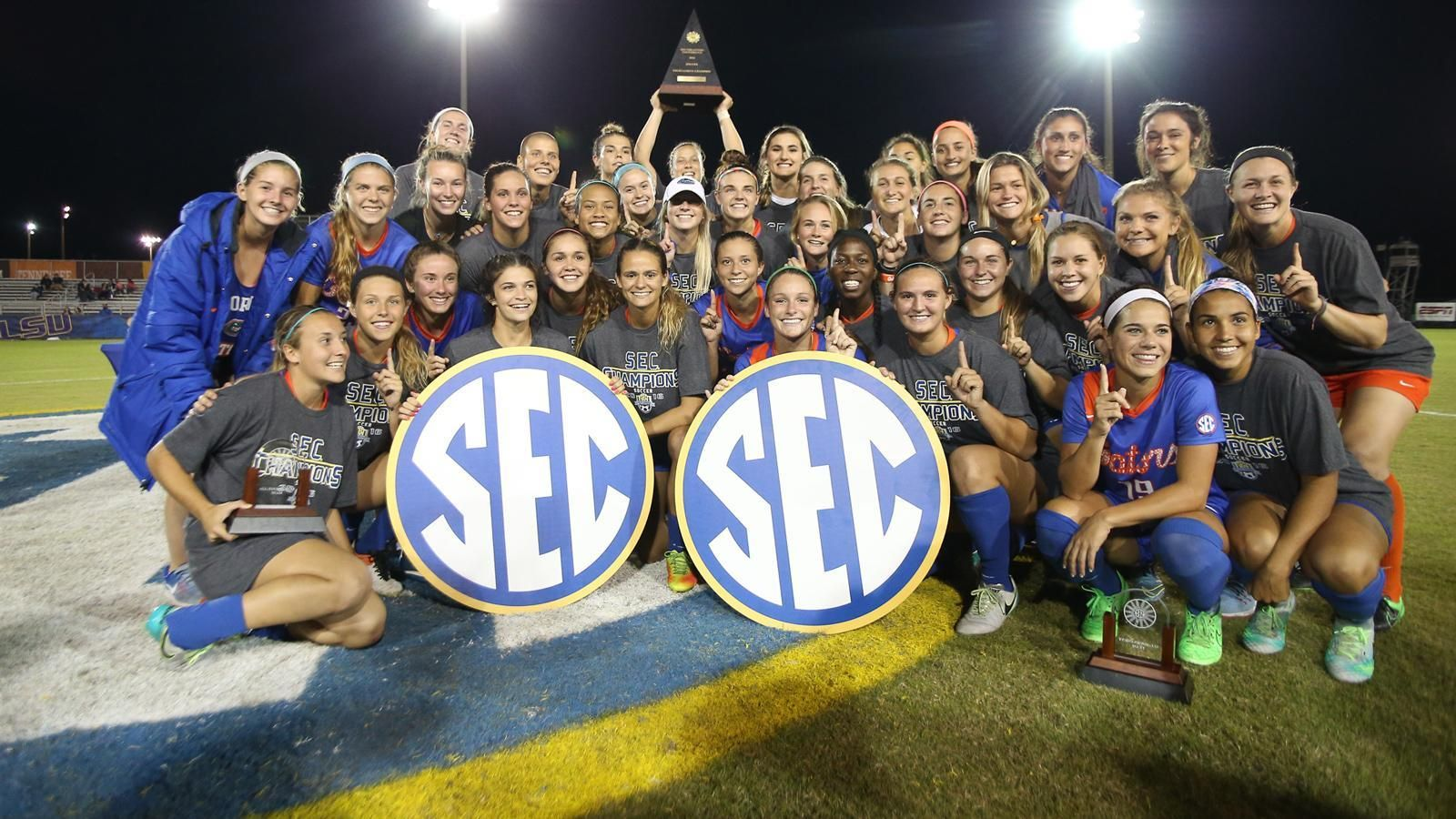 Gators repeat as SEC Tournament champions