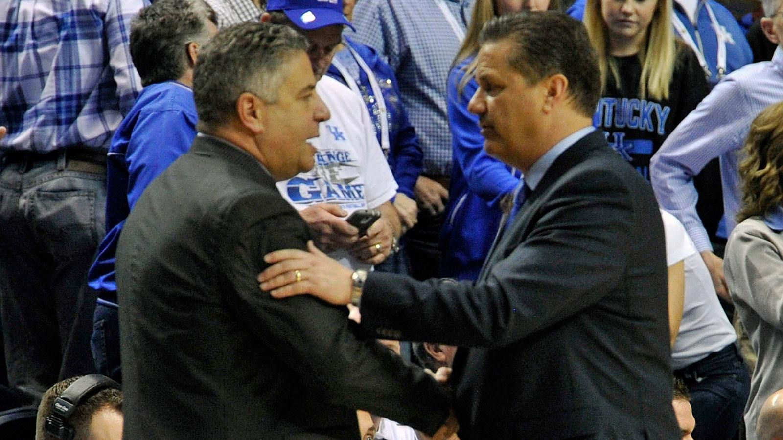 John Calipari and Bruce Pearl sound off