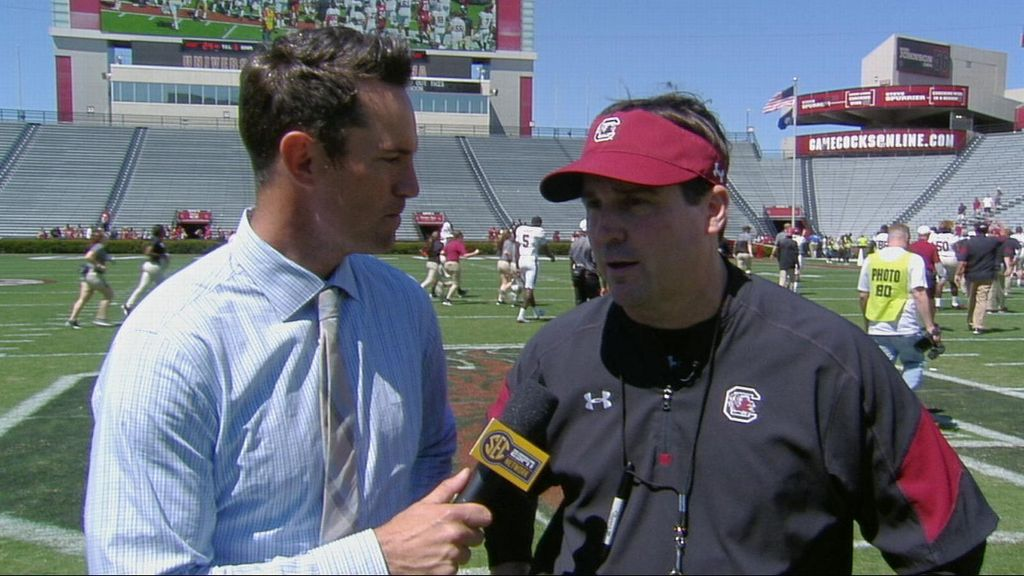 Muschamp shares takeaways from spring game