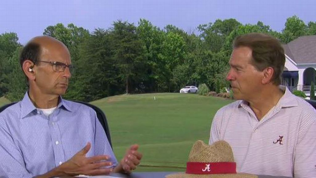 Saban shares goals for Tide's offense