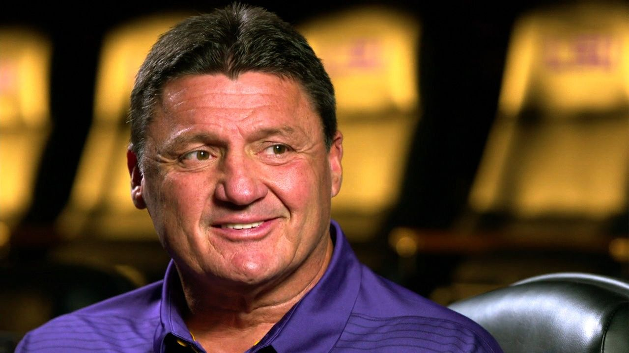 Orgeron confident LSU will win championships