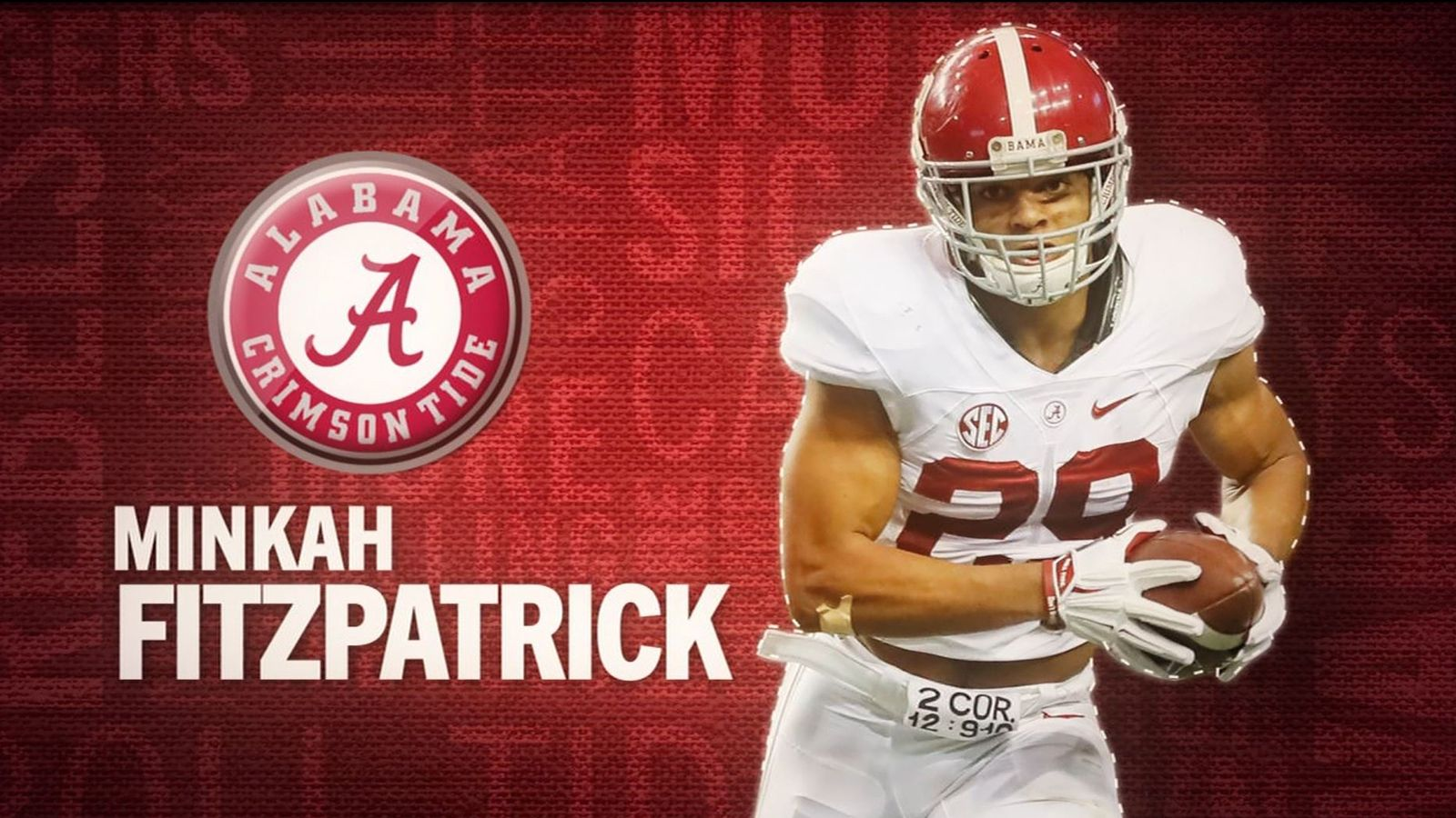 I am the SEC: Alabama's Minkah Fitzpatrick