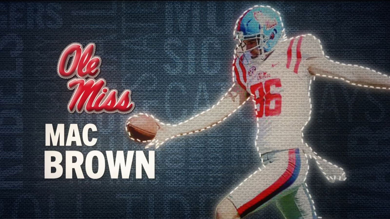 I am the SEC: Ole Miss' Mac Brown