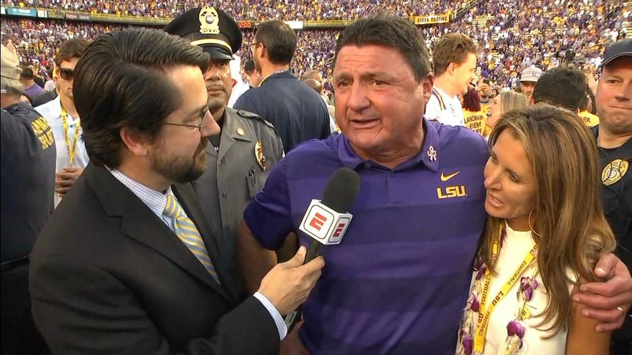 Orgeron: 'We knew we had to play our best ball'