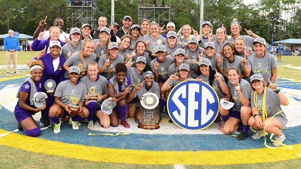 LSU tops Arkansas to claim SEC Championship