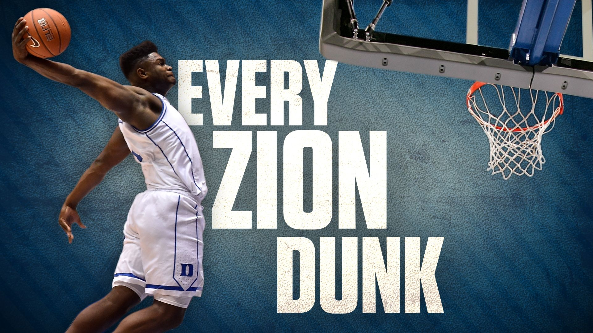 7f3d4f65db9a 62 dunks in 28 games  Every Zion dunk from his season at Duke